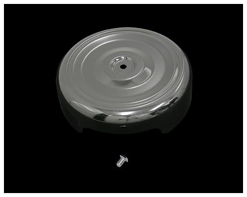 Bobber Style 圓型空氣濾清器外蓋 (黑色)