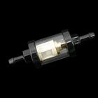 【Neofactory】1/4 Inch 透明的汽油過濾器 黑色