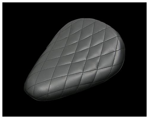 鑽石型單坐墊 無側邊