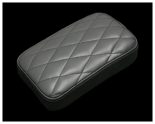 52mm 鑽石型後座坐墊 (黑)