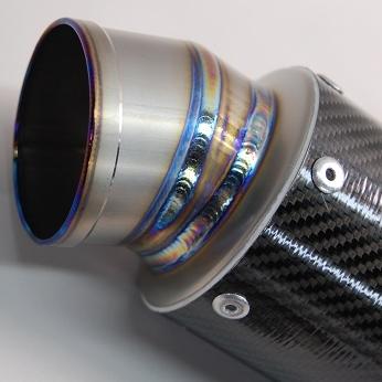【MAVERICK】MV83碳纖維消音器/2P切割造型 - 「Webike-摩托百貨」