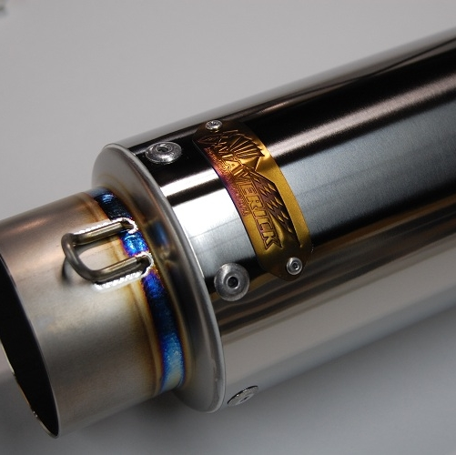 【MAVERICK】MV83鈦合金消音器/2P切割造型 - 「Webike-摩托百貨」