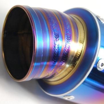 【MAVERICK】MV83鈦合金消音器/3P切割造型 - 「Webike-摩托百貨」