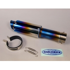 MAVERICK MV83 M1Titanium silencer / Slash cut