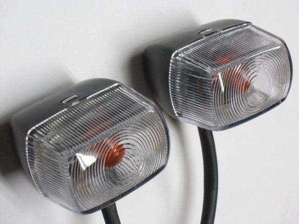 透明方向燈