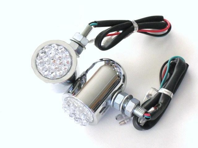 LED 電鍍方向燈