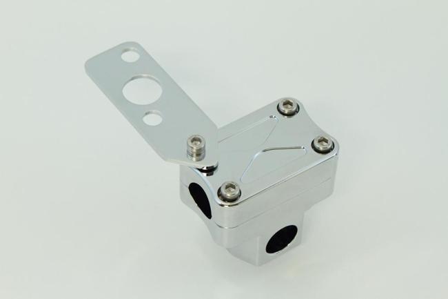鋁合金電鍍把手固定座