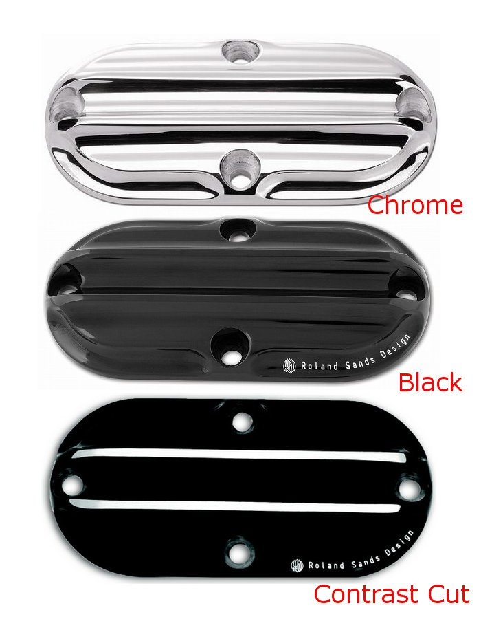 【RSD Roland Sands Design】NOSTALGIA 引擎檢修孔外蓋 (對比色) - 「Webike-摩托百貨」