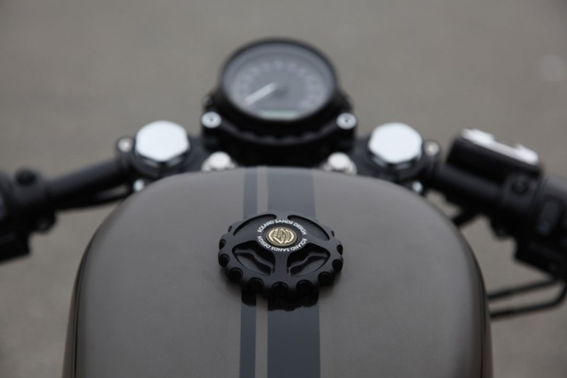 【RSD Roland Sands Design】油箱蓋 (GEAR DRIVE/消光黑) - 「Webike-摩托百貨」