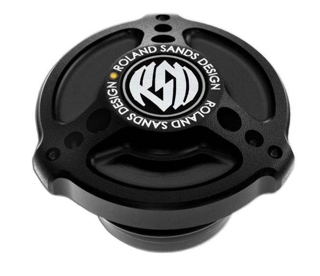 【RSD Roland Sands Design】LED油量指示型油箱蓋 (TRACKER/消光黑) - 「Webike-摩托百貨」