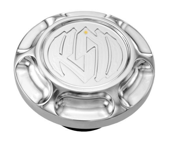 【RSD Roland Sands Design】LED油量指示型油箱蓋 (VINTAGE/電鍍) - 「Webike-摩托百貨」