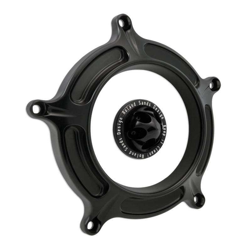 【RSD Roland Sands Design】RSD/PM 空氣濾清器用飾蓋 (TURBIN/全亮黑色) - 「Webike-摩托百貨」