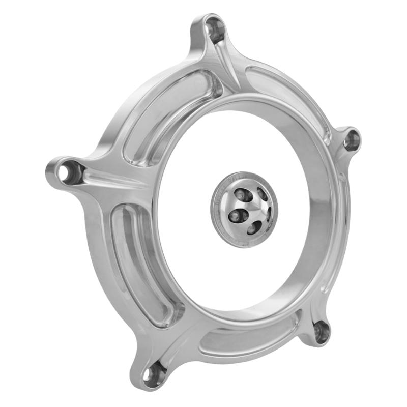 【RSD Roland Sands Design】RSD/PM 空氣濾清器用飾蓋 (TURBIN/鍍鉻) - 「Webike-摩托百貨」
