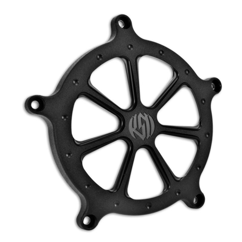 RSD/PM 空氣濾清器用飾蓋 (SPEED 7/黑色-OPS)