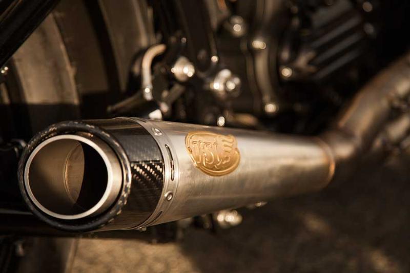 【RSD Roland Sands Design】SLANT 2-INTO-1 全段排氣管 (Works) - 「Webike-摩托百貨」