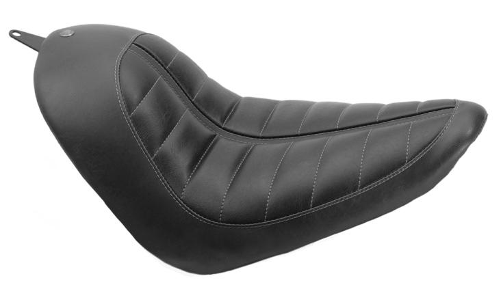200mm 輪胎 後土除套件用 單坐墊 (ENZO 黑色)