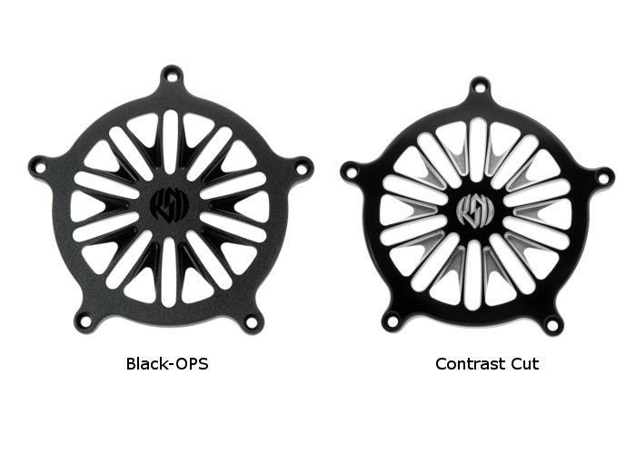 【RSD Roland Sands Design】RSD/PM 空氣濾清器用飾蓋 (BOSS/ 黑色-OPS)