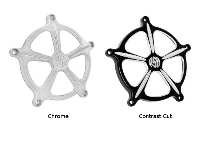 【RSD Roland Sands Design】RSD/PM 空氣濾清器用飾蓋 (SPEED 5/Contrast-Cut) - 「Webike-摩托百貨」