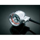 【kuryakyn】Super Bright Small Silver Barrett LED燈 (琥珀色/Run-turn)