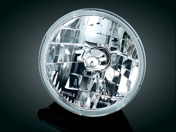 7吋 Diamond Cut Ice 晶鑽型頭燈 (Smooth 透明燈殼)