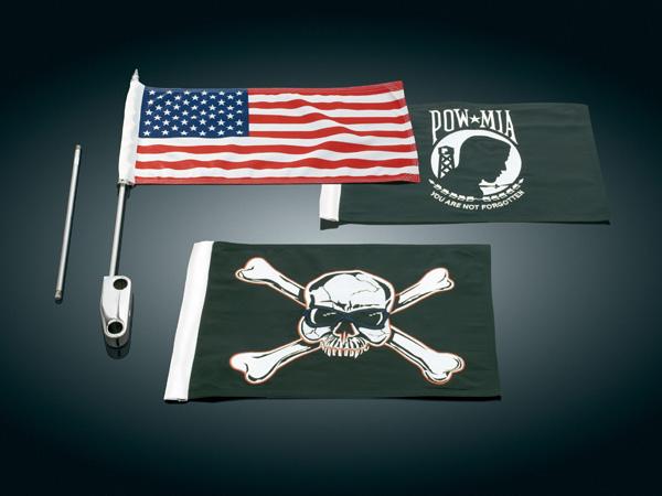 側掛式旗子支架套件