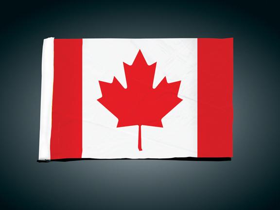 4吋 x9吋 替換用旗子 (Canadian)
