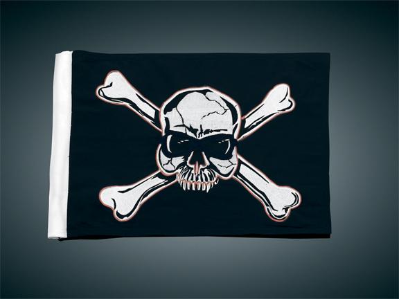 4吋 x9吋 替換用旗子 (Pirate)