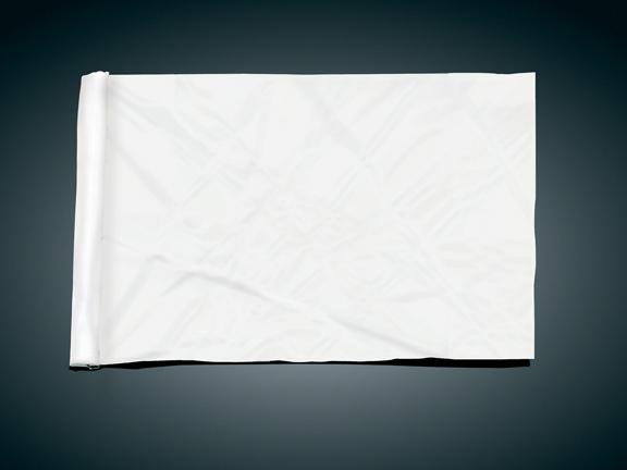 4吋 x9吋 替換用旗子 (Blank)
