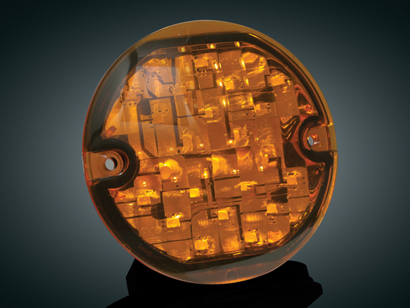 3-1/4吋 LED前方向燈單體(琥珀色燈殼)