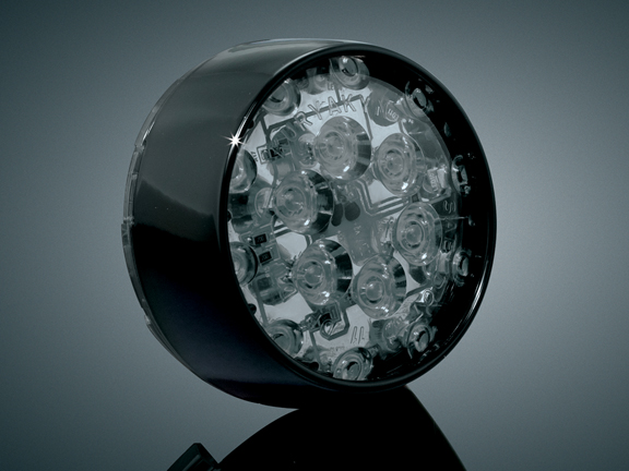 Barrett LED 前方向燈 (燻黑色燈殼)