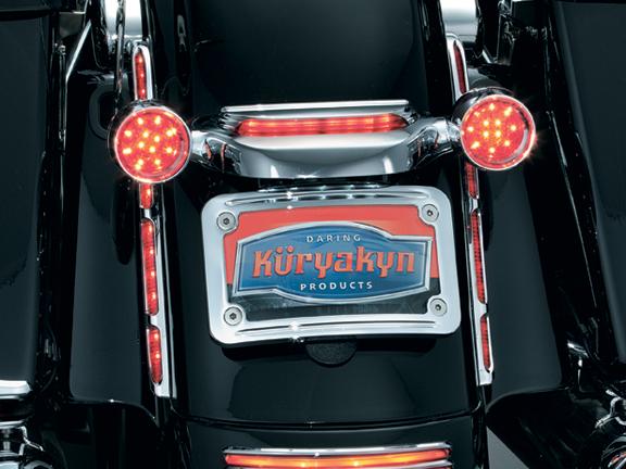 【kuryakyn】後土除裝飾 (附LED燈 鍍鉻) - 「Webike-摩托百貨」