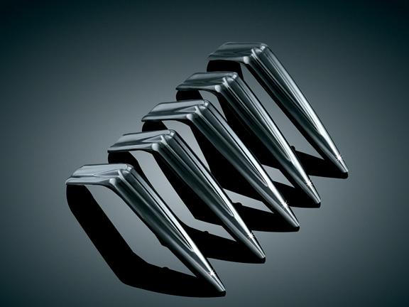 Mach 2用 空氣濾清器 Spike (黑色)