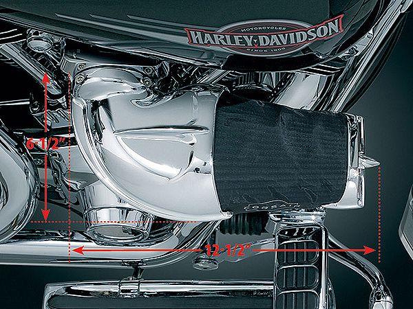 【kuryakyn】 Big Twin & Twin Camshaft用 CORSAIR 空氣濾清器  - 「Webike-摩托百貨」