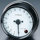 PMC Electric white tachometer