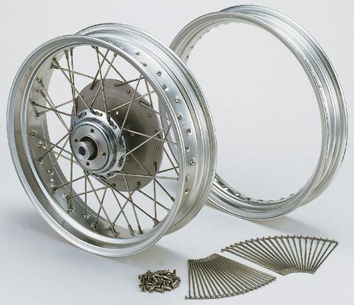 鋁合金輪圈&不銹鋼輻條組