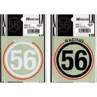 【56design】56Racing圓形貼紙 80X83