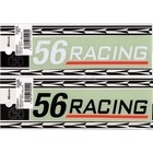 【56design】56Racing標誌貼紙 140X30