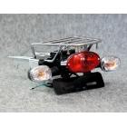 【GM-MOTO】Monkey用後貨架 附改裝尾燈 套件