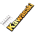 【Hirochi】Kawasaki Logo 貼紙