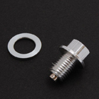 HIROCHI-SHOP Drain bolt with magnet