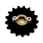 HIROCHI-SHOP Sprocket 17 T / 420 Ultra high speed oriented