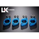 【U-KANAYA】鋁合金切削加工 排氣管頭段固定環 [ZRX400/II専用]