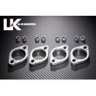 【U-KANAYA】鋁合金切削加工 排氣管頭段固定環 [ZRX1100 : ZRX1200 : ZRX1200DAEG 専用]