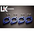 【U-KANAYA】鋁合金切削加工 排氣管頭段固定環 [ZZR1100: ZZR1200専用]