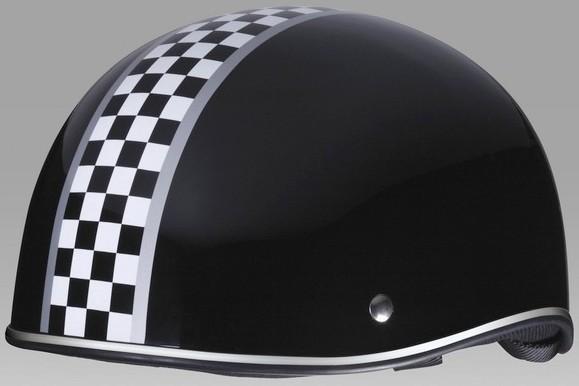 By-Garoo 半罩安全帽安全帽Checker