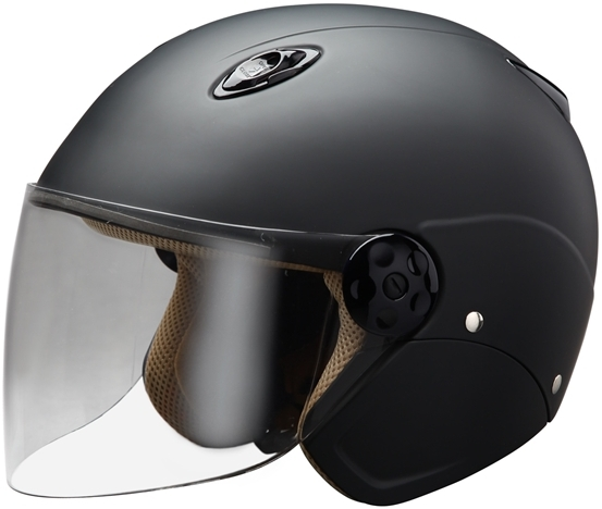 MATTED Semi-Jet 四分之三安全帽安全帽