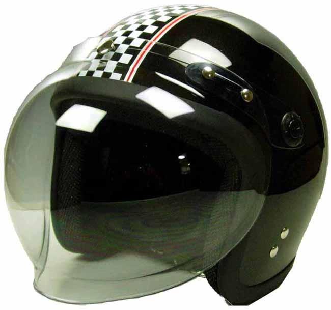 【unicar】Kawamura 付泡泡鏡 Small Jet四分之三安全帽 - 「Webike-摩托百貨」
