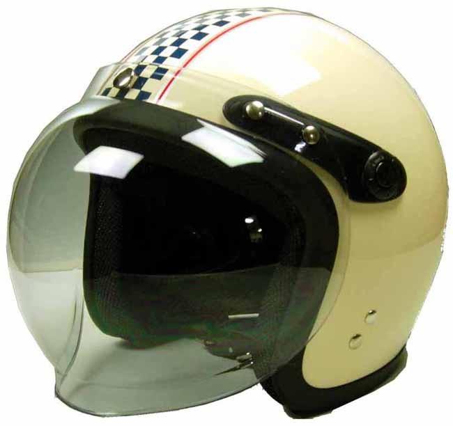 Kawamura 付泡泡鏡 Small Jet四分之三安全帽