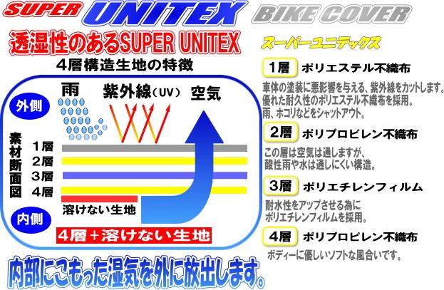 【unicar】SUPER UNI-TEC 摩托車罩 - 「Webike-摩托百貨」