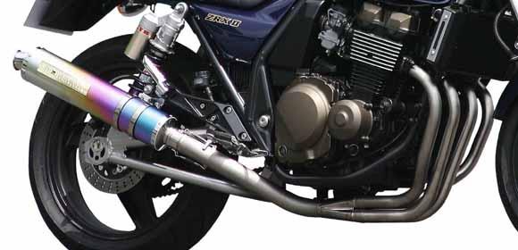 【MORIWAKI】ZERO SS 全段排氣管 觸媒轉換器 【鈦陽極處理】 - 「Webike-摩托百貨」